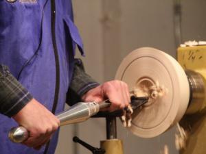 Curt Van Weelden - green bowl demo