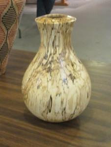 Stabilized Spalted Maple Vessel by Curt Van Weelden