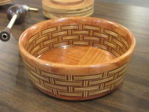 Plywood Segmented Bowl by Art Bartlett