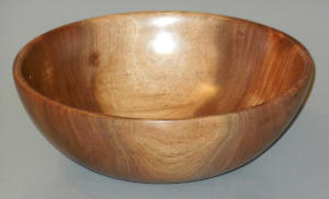Black Walnut Bowl (for Empty Bowls) - Klaus Zunker