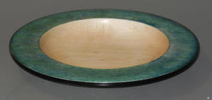 Platter/Bowl with Painted Rim - Kevin Seigworth