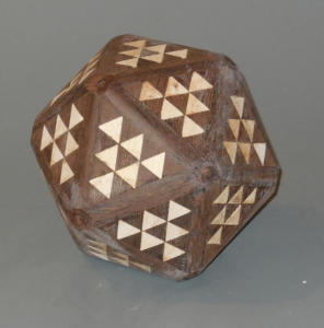 Segmented ball - in process - Jim Andresen