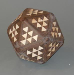 Segmented ball - in process - Jim Andresen