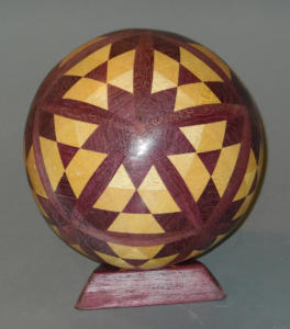 Segmented Ball Completed - Jim Andresen