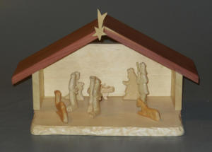 Carved Nativity Set - Klaus Junker