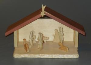 Carved Nativity Set - Klaus Junker
