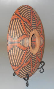 Squash Basket Hollow Form - Beaded inside and outside - Jim Andresen