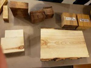 Wood Raffle Table