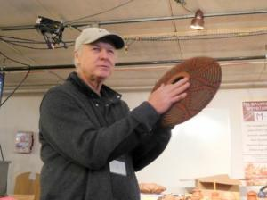 Jim Andresen and Basket Illusion Piece