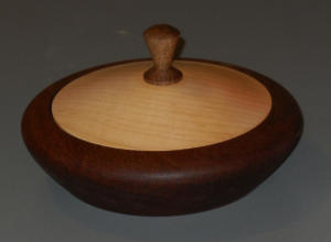 Joe Fischer Lidded Bowl