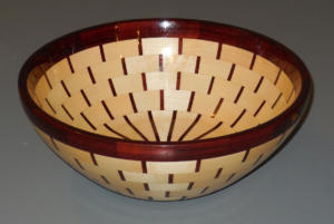 Dave Barber Segmented Bowl