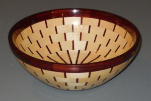 Dave Barber Segmented Bowl