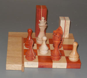 George Egenhoefer Chess Set