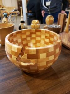 Segmented Yarn Bowl - Curt Van Weelden