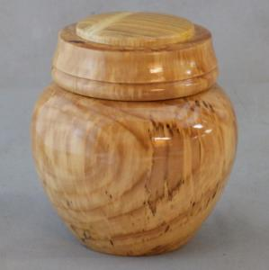 Mountain Ash Lidded Jar w/ Mulberry Insert - Tony Rozendaal
