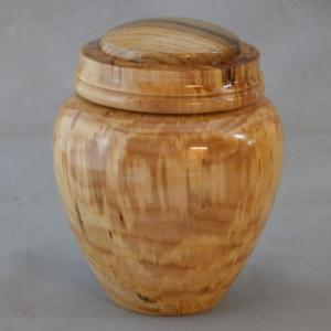 Mountain Ash Lidded Jar w/ Cork Mark Insert - Tony Rozendaal