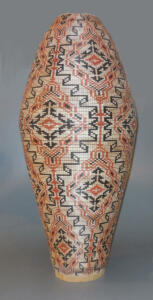 Jim Andresen - Vessel 2 - This vessel stands over 24 inches high