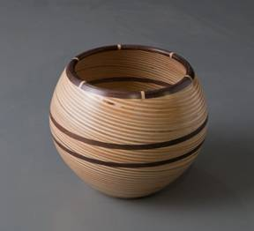 Baltic Birch Plywood Bowl - Ken Thrun